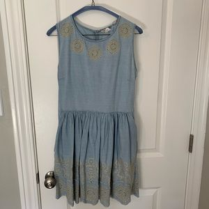 JACK WILLS LIGHT DENIM DRESS